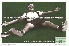 2002 Us Open Andy Roddick American Express Postcard
