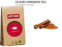 Ceylon Zimt Tee, Bio Infusion, 20 Teebeutel, 40g