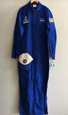 NEW Get Real Gear NASA Astronaut Space Halloween Costume - Men's Large **READ**