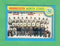 1979-80 OPC O PEE CHEE  # 251  North Stars Team  NRMNT-MT