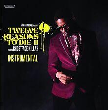 12 Reasons to Die II Instrumentals By Adrian Younge/Ghostface Killah Vinyl LP Re