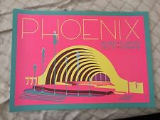 Phoenix, Mac Demarco, The Lemon Twigs Limited Edition Poster From Hollywood Bowl