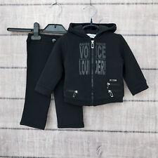 Dior Baby 9 months 2 pc Set Suit Black Pants Jacket Cotton