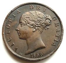 Victoria - Young Head Copper Halfpenny 1856