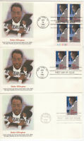 SSS: 3 pcs Fleetwood FDC 1986 22c Duke Ellington PB4  Sc #2211