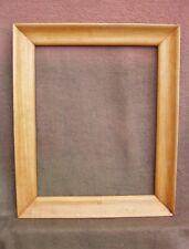 Cadre en bois brut des années 1950 / 1960 - feuillure : 54,5 x 43,6 cm
