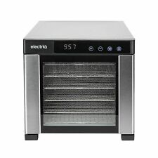 New ListingelectriQ Digital Dehydrator & Dryer with 6 Shelves and 48 Hour Food Timer eqddss