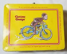 Curious George Collectible Tin Keepsake Lunch Box