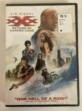 Xxx Return Of Xander Cage Dvd Vin Diesel New & Sealed