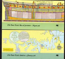 Australia First Fleet Folders: Arrival 1788 / Rio De Janeiro 1787