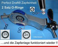 2 Satz 6 Dichtungen O-Ringe für Philips Perfect Draft® Bierzapfanlage