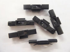 MG ZT/ROVER 75 WINDSCREEN RETAINER FINISHER CLIPS, SET OF 6, NEW (DCC100350x6)