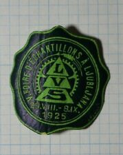 LVS V. Foire D'Echantillons A Ljubljana Serbia 1925 Philatelic Souvenir Ad Label