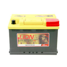 Car Battery Type 800 760CCA 3 Years Warranty Lion Batteries AGM Gel 12V 70Ah
