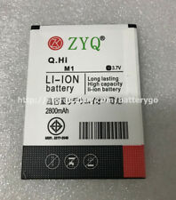 Original 2800mAh 3.7V Rechargeable Battery For ZYQ M1 Smartphone