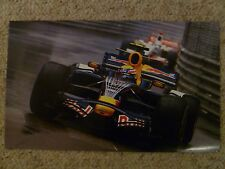 2009 Mark Webber's Red Bull Renault F1 Picture / Print / Poster RARE Awesome
