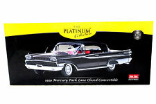 SunStar Platinum 1959 Mercury Park Lane Closed Convertible Black 1/18 Diecast