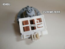 ZANUSSI WASHING MACHINE DRAIN PUMP 25 watt spares parts