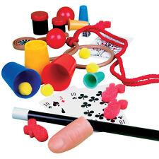 infantil, Para Niños 58 MAGIA TRUCOS & Illusions Magos Funda Juguete Set 06436