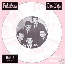 V.A. - FABULOUS GROUPS Vol. 3 - The Best of the Rare CD