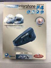 Interphone F4 Multimedia Intercom 1 Biker