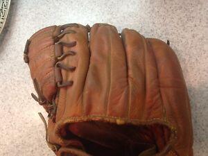 Vintage 1950s MacGregor Leather Baseball Glove Ralph Kiner Fielders Mitt G113