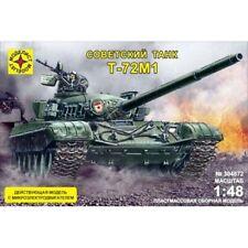 MODELIST 304872 SOVIET MAIN BATTLE TANK T-72M1 WORKING MODEL KIT 1/48 NEW