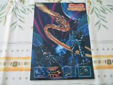 >> SYVALION ARCADE TAITO SHOOT'EM UP ORIGINAL JAPAN HANDBILL FLYER CHIRASHI! <<