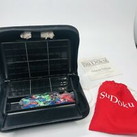 Sudoku Attaché Edition -- Pressman Toys Physical Sudoku Game in Travel Case