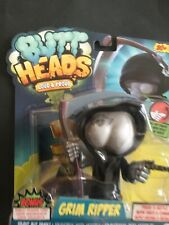 "Butt Heads ""Grim Ripper"" Interactive Farting Figurine BNIP Free Shipping"