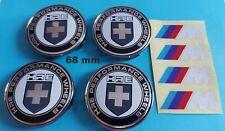 BMW 4x 68mm logo Centre de roue Cache Moyeu jantes HRE Performance Motorsport