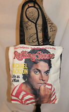 Michael Jackson Life As A Man Tote Bag Rolling Stone 1983 Ray Mancini