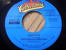 RUFUS & CHAKA KAHN - DANCE WIT ME / JIVE TALKIN'