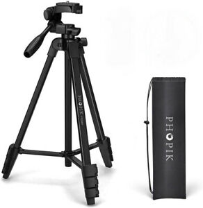 PHOPIK Lightweight Tripod camera webcam phone 360 panorama quick connect PT-204