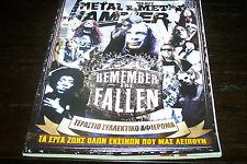 METAL HAMMER MAGAZINE 8/2013 REMEMBER THE FALLEN SCHULDINER HANNEMAN ROADS DIO