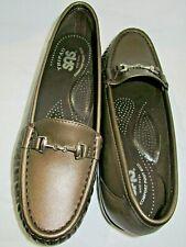 SAS Metro Bronze Patent Slip On Soft Sole Comfort Loafers 6.5 M