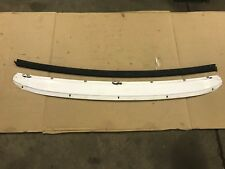 87-93 Ford Mustang Convertible Top Rear Metal Body Trim Decklid Molding OEM GT