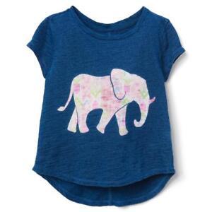 NWT Gymboree Elephant T Shirt Top Tee Girls S,M