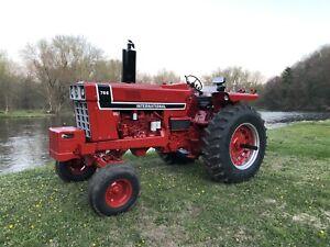1976 IH Blackstripe 766 International Tractor Farmall