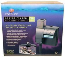 Coralife Marine Filter w/ Protein Skimmer For Salt Water Tanks Up To 30 Gallons