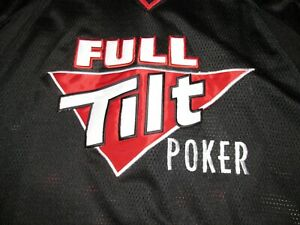Full Tilt Poker #13 Finn Football Jersey Sz XXL Patrik Antonius Finland Finnish