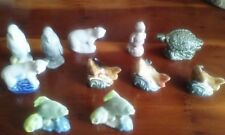 Wade whimsies Range a Porcelain and China Collectables.