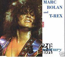 MARC BOLAN & T-REX 20TH CENTURY BOY + TELEGRAM SAM LIVE 4 TRACK 1991 CD SINGLE