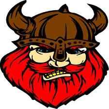 30 Custom Brown Viking Personalized Address Labels
