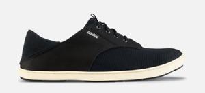 Olukai Nohea Moku Onyx/Onyx Loafer Shoe Clog Men's US sizes 7-14 NEW!!!