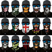 Cycling Ski Mask Scarf Ghost Balaclava Masks Head Scarf Neck Bike Face Mask