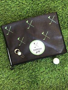 Emblem Golf Towel And Divot Tool Ball Marker Golf Set
