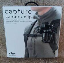 Peak Design Capture Camera Clip with Standard Plate CP-BK-3 (Black) ~New~