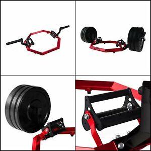 Olympic Super Trap Hex Shrug Deadlift Bar 750 LB Capacity Triceps Biceps