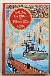 Jules VERNE . Les Enfants du Capitaine Grant . 2 tomes Ed de l'Ormeraie 1975